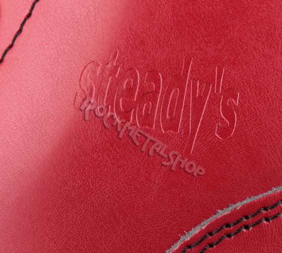 glany STEADY'S - 6 dziurek, czerwone (STE/6/PAS)