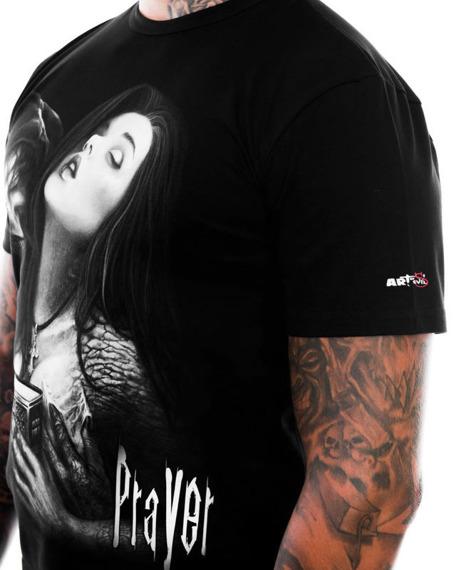 koszulka ART BY EVIL - PRAYER