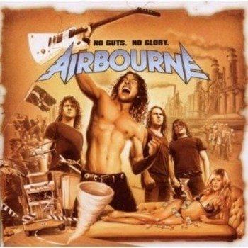 AIRBOURNE: NO GUTS, NO GLORY (CD)