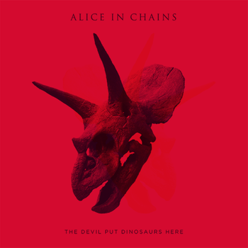 ALICE IN CHAINS : THE DEVIL PUT DINOSAURS HERE (CD)