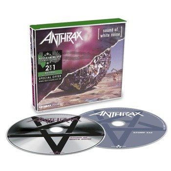 ANTHRAX: SOUND OF WHITE NOISE / STOMP 442 (2CD)