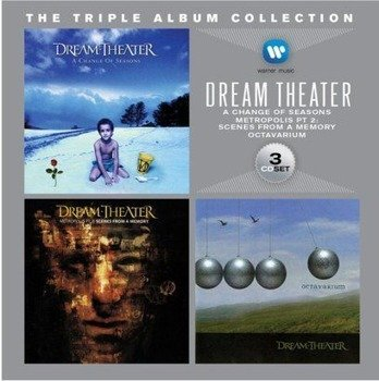 DREAM THEATER: TRIPLE ALBUM COLLECTION (3CD)