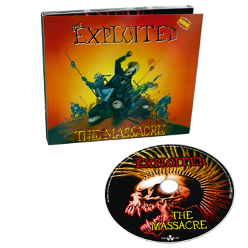 EXPLOITED: THE MASSACRE (CD) SPECIAL