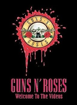 GUNS N' ROSES: WELCOME TO THE VIDEOS (DVD)