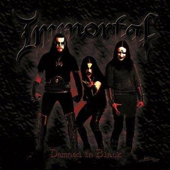 IMMORTAL: DAMNED IN BLACK (CD)