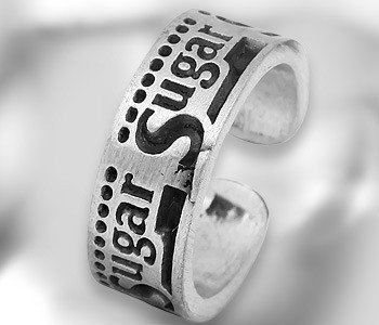 Obrączka SUGAR (TR150)