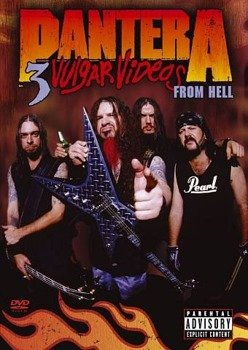 PANTERA: 3 VULGAR VIDEOS FROM HELL (DVD)