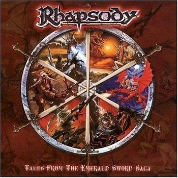 RHAPSODY: TALES FROM THE EMERALD SWORD SAGA (CD)
