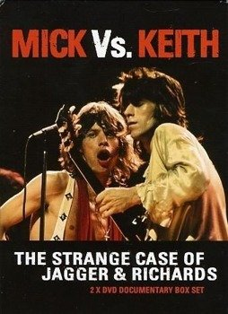 ROLLING STONES: MICK VS KEITH - THE STRANGE CASE OF JAGGER & RICHARDS (DVD)