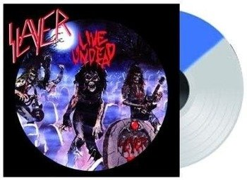 SLAYER:  LIVE UNDEAD / HAUNTING THE CHAPEL (LIMITED EDITION)  (LP VINYL)