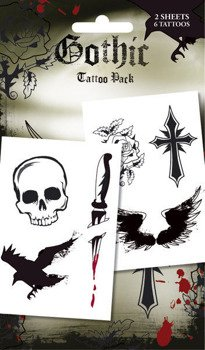 Tatuaż/Naklejka GOTHIC