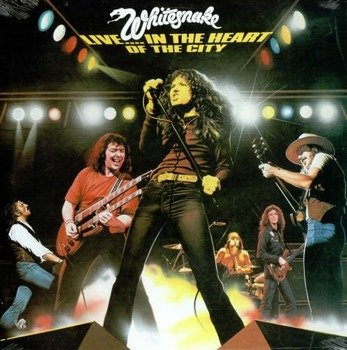 WHITESNAKE: LIVE IN THE HEART OF THE CITY (2LP VINYL)