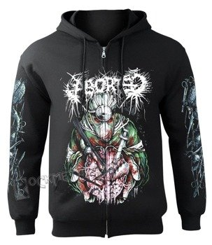 bluza ABORTED - BUTCHERED LOBOTOMY rozpinana z kapturem
