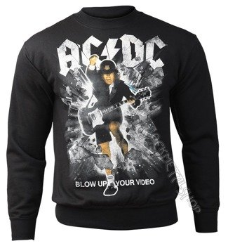 bluza AC/DC - BLOW UP YOUR VIDEO, bez kaptura