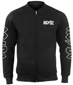 bluza AC/DC - FOR THOSE ABOUT TO ROCK bejsbolówka, rozpinana