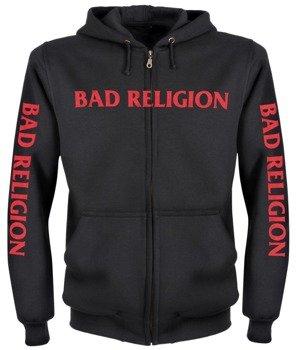 bluza BAD RELIGION rozpinana, z kapturem