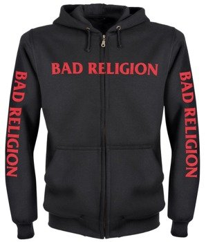 bluza BAD RELIGION rozpinana, z kapturem