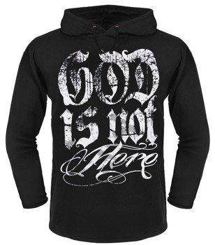 bluza BLACK ICON - GOD czarna z kapturem
