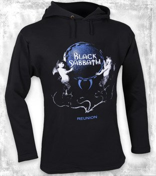bluza BLACK SABBATH - REUNION czarna, z kapturem