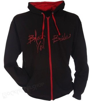 bluza BLACK VEIL BRIDES - INK, rozpinana z kapturem