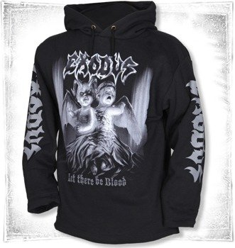 bluza EXODUS - LET THERE BE BLOOD czarna, z kapturem