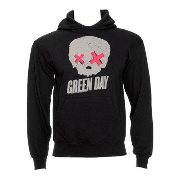 bluza GREEN DAY - SKULL, z kapturem