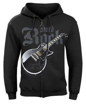 bluza HARD ROCK GUITAR rozpinana, z kapturem