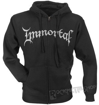 bluza IMMORTAL - AT THE HEART OF WINTER, rozpinana z kapturem