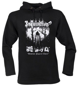 bluza INQUISITION - DESOLATE FUNERAL CHANT czarna, z kapturem