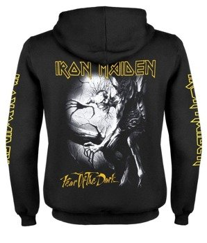 bluza IRON MAIDEN - FEAR OF THE DARK rozpinana, z kapturem