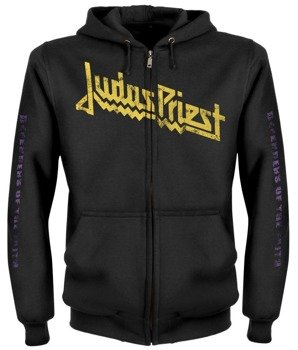 bluza JUDAS PRIEST - DEFENDERS OF THE FAITH rozpinana, z kapturem
