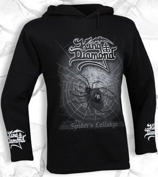 bluza KING DIAMOND - THE SPIDER'S LULLABYE czarna, z kapturem