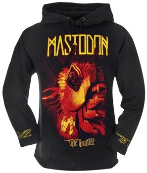 bluza MASTODON - THE HUNTER czarna, z kapturem