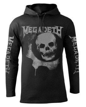 bluza MEGADETH - GEARS OF WAR czarna, z kapturem