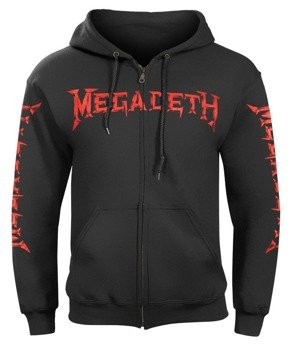 bluza MEGADETH - PEACE SELLS... BUT WHO'S BUYING? rozpinana, z kapturem