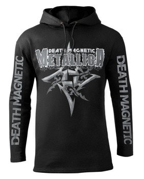 bluza METALLICA - DEATH MAGNETIC czarna, z kapturem