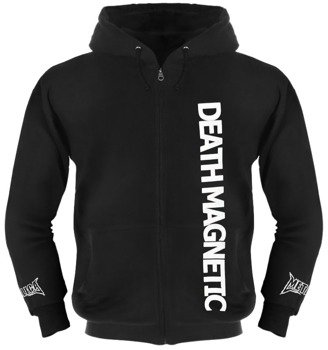 bluza METALLICA - DEATH MAGNETIC ,rozpinana z kapturem