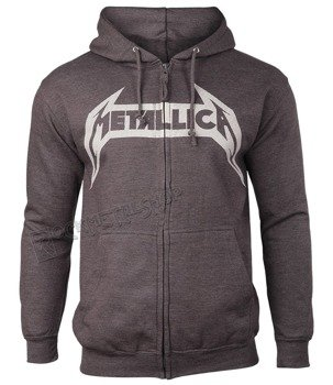 bluza METALLICA - NO LIFE TILL LEATHER rozpinana, z kapturem