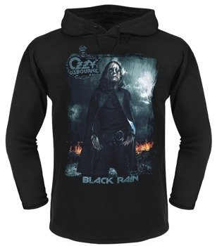 bluza OZZY OSBOURNE - BLACK RAIN ,z kapturem