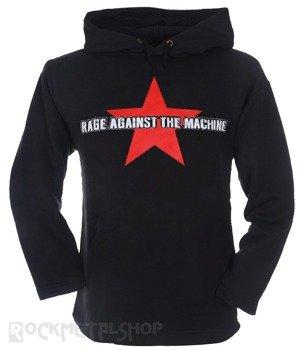 bluza RAGE AGAINST THE MACHINE czarna, z kapturem