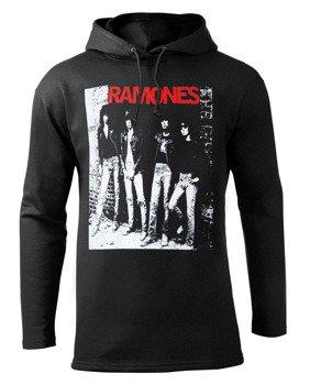 bluza RAMONES czarna z kapturem
