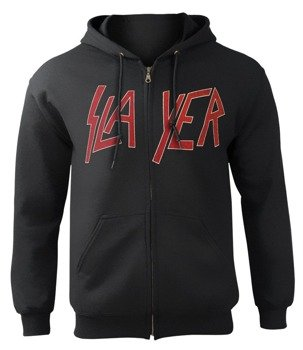 bluza SLAYER - SOUTH OF HEAVEN, rozpinana z kapturem