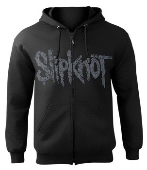 bluza SLIPKNOT - FACES PANEL, rozpinana z kapturem