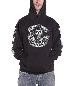bluza SONS OF ANARCHY - REAPER BANNER, kangurka z kapturem
