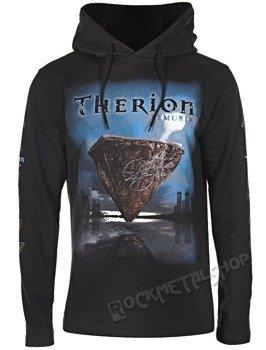 bluza THERION - LEMURIA czarna, z kapturem
