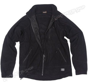 bluza polar ALPHA GRID FLEECE JACKET BLACK