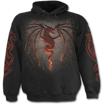 bluza z kapturem DRAGON FURNACE