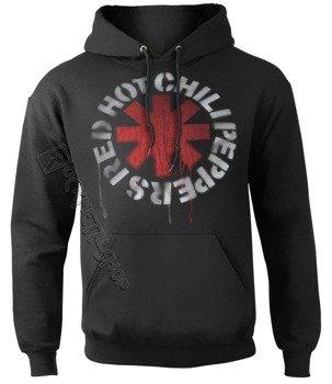 bluza  z kapturem RED HOT CHILI PEPPERS - STENCIL ASTERISKS
