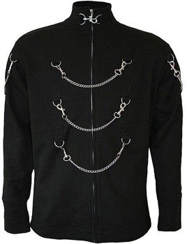 bluza ze stójką DEAD DREAMS czarna