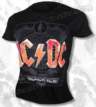 bluzka damska AC/DC - BLACK ICE